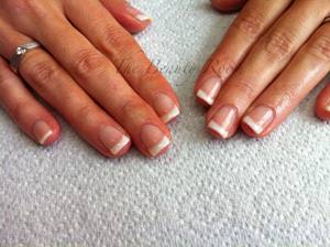 Natural Nails with OPI GelColor